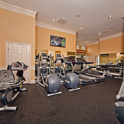 State-of-the-art fitness center and aerobics center
